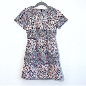 H&M floral embroidered dress with pockets